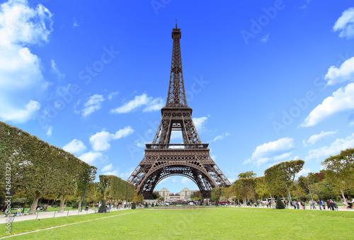 Fototapeta The Eiffel Tower