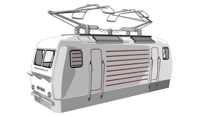 Eisenbahn - Transportmittel