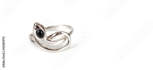 The beauty snake ring