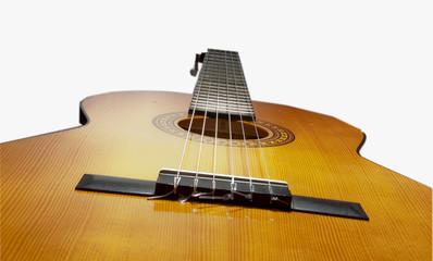 gitarre liegend
