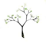 Green tree love