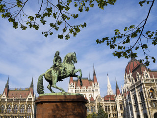 Houses of Parliament Budapest Hungary