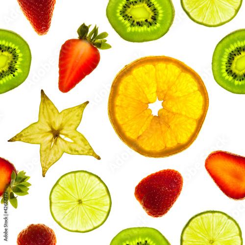 Obraz na Plexi Fruit slices