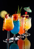 Fototapety Tropical drinks - Most popular cocktails series