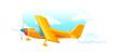 vector icon plane