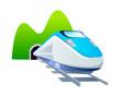 vector icon train