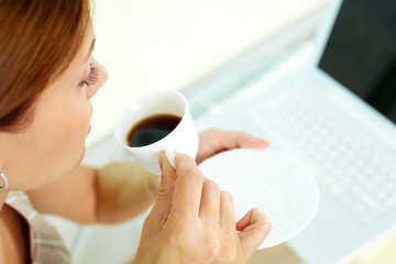 Coffee at workplace