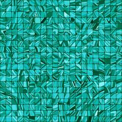 Blue mosaic background. EPS 8
