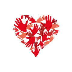 Logo helps my heart # Vector