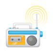 vector icon radio