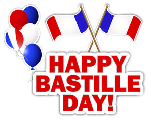 Bastille Day stickers.