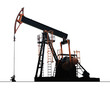 isolated oil well pump - 42695323