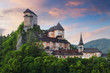 Slovakia castle at sunset - Oravsky hrad - 42699991