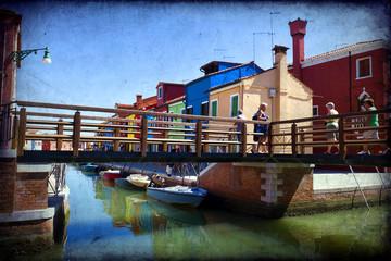 Island of Burano - Venice