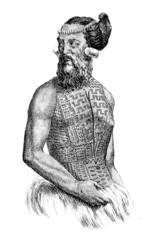 Trad. Polynesian Warrior
