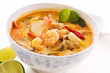 Tom yum thale suppe