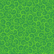 Seamless green swirls pattern, background, wallpaper