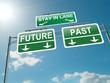 Past or future concept.