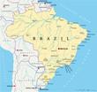 Brazil Map (Brasilien Landkarte)