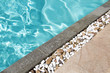 Bord d'une piscine