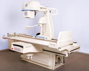 X-ray room.