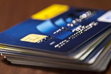 Kreditkarte mit Chip