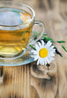 Herbal tea with camomile