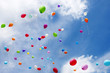 canvas print picture - Luftballons, toy balloons