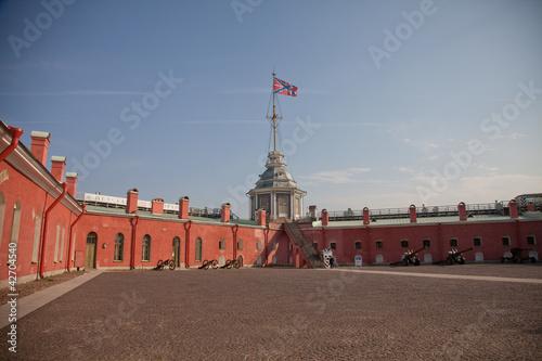Sankt Petersburg, Peter und Paul Festung - Paradeplatz