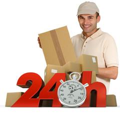Goods delivery in 24 hrs