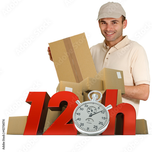 Goods delivery in 12 hrs