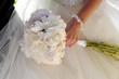 blooming, bridal, detail, flowers, hand, paeonia, wedding