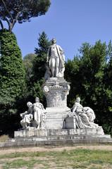 Rom Villa Borghese Goethe Denkmal