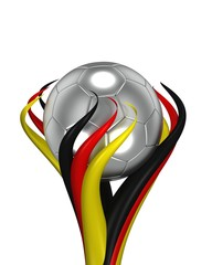 Fussball Pokal Deutschland silber