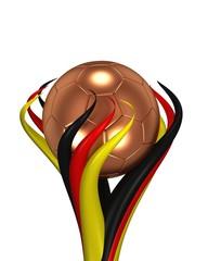 Fussball Pokal Deutschland bronze