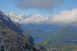 Landscape of Bavarian Alps in Germany,