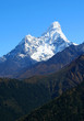 Himalayan mountain landscape in Nepal, Mt. Ama Dablam