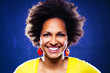 Afro american woman portrait