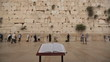 Bible book Wailing Wall Jerusalem