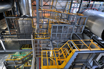 Impianto industriale eenrgetico