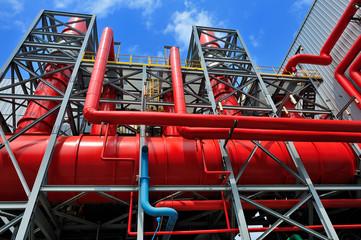 tubazioni di impianto industriale energetico