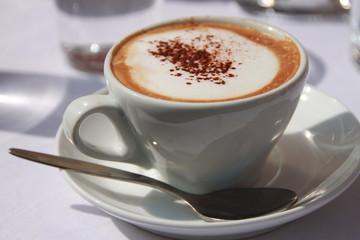 Kaffeezeit: Wiener Kaffee / Cappuccino