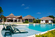Caribbean resort with swimming pool