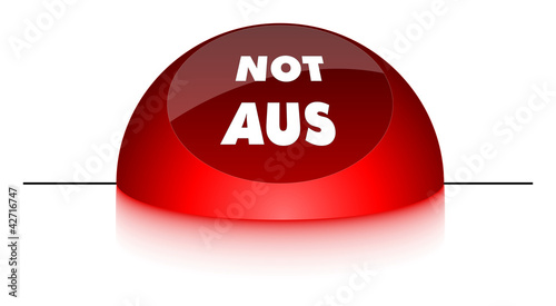 Notaus button