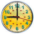 9 tropical clock