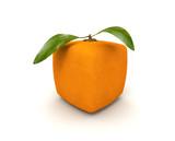 Cubist orange