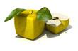 Cubic apples