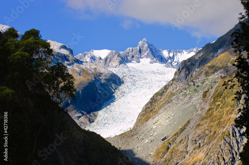 Fox Glacier in New Zealand's South Island