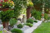 Gepflegter Steingarten