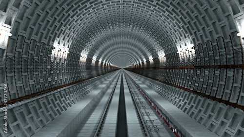 subway underground tunnel